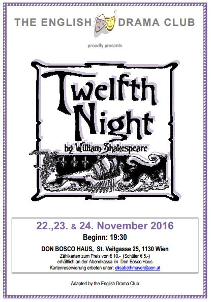 Twlth Night by Williams Shakespeare
